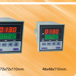Prog. Multirange Double Display Timer
